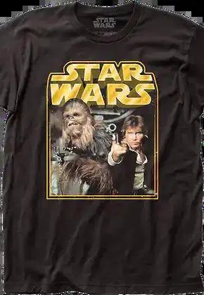 millennium falcon pilots chewbacca and han solo star wars t shirt.master A blog for the love of Pinterest