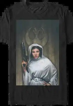 princess leia painting star wars t shirt.master A blog for the love of Pinterest