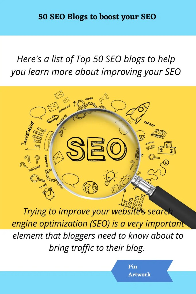 50 SEO Blogs to boost your SEO 10 A blog for the love of Pinterest