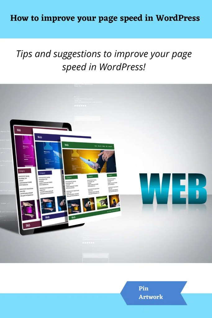 How to improve your page speed in WordPress