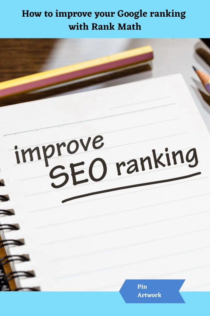 How to improve your Google Ranking with Rank Math 9 A blog for the love of Pinterest