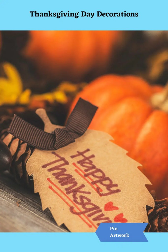 Thanksgiving Day Decorations 11 A blog for the love of Pinterest
