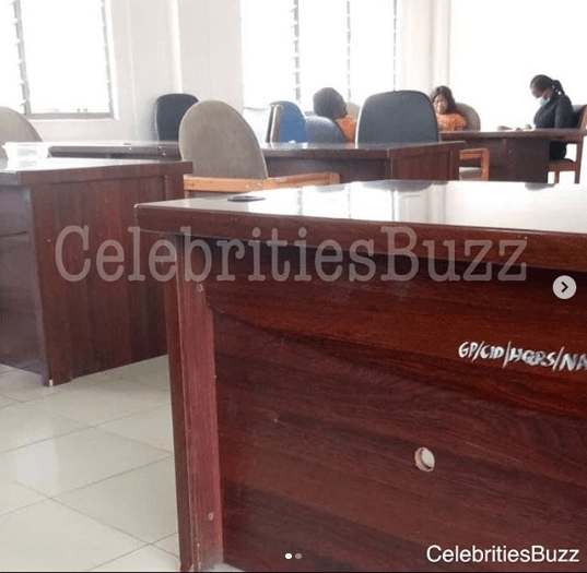 First Photos of Mzbel been questioned at the CID headquarters surfaces online 7