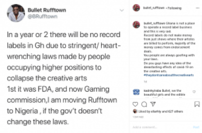 Bullet, CEO Of Rufftown Records Reveals Why He's Moving His Label To Nigeria. 4
