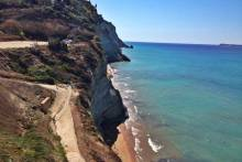 Logas Beach in Corfu