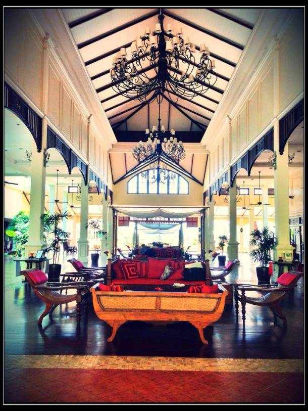 Lobby of Sofitel Phokeethra Krabi Golf and Spa Resort