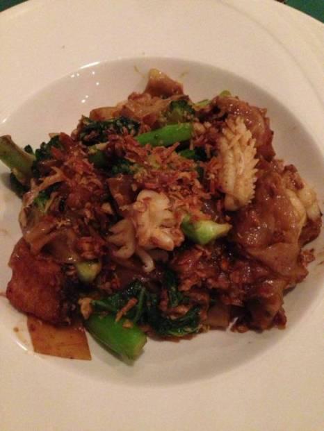 Pad Thai at Venezia Restaurant in Sofitel Phokeethra Krabi Golf and Spa Resort