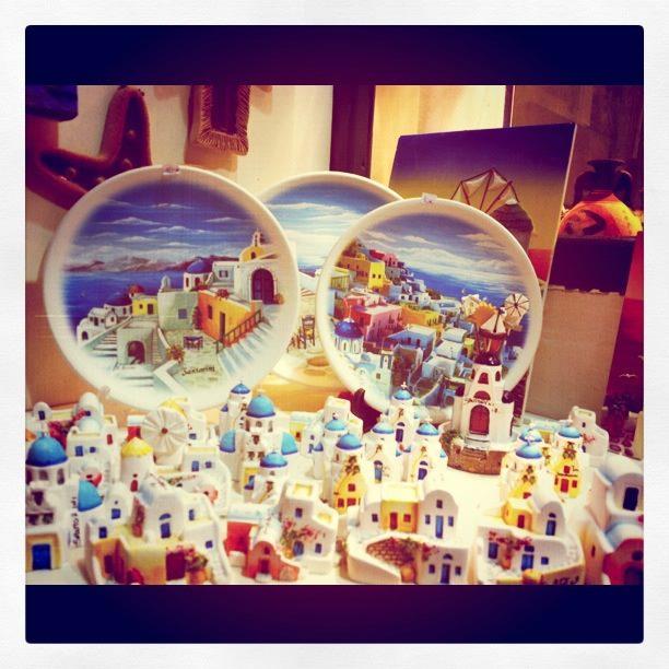 Santorini Souvenirs