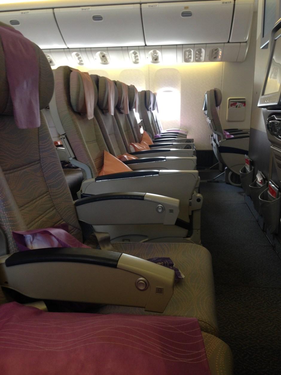 Empty flight from Dubai to Doha