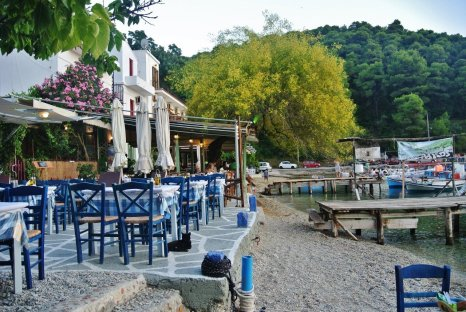 Agnontas Beach, Skopelos, Greece