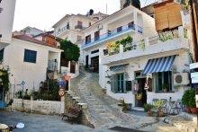 Glossa, Skopelos, Greece