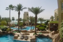 Pool and beach access at Four Seasons Doha, PinayFlyingHigh.com-40