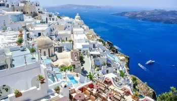 Where To Stay In Santorini Pinay Flying High London Blog And - How much does it cost to go to greece