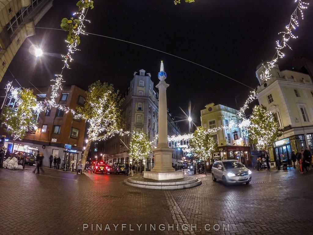 Christmas In London Seven Dials Christmas Lights Pinay