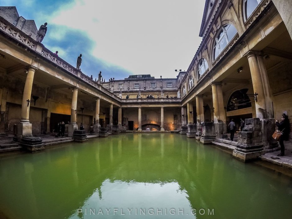 The Roman Baths, Bath England - PinayFlyingHigh.com