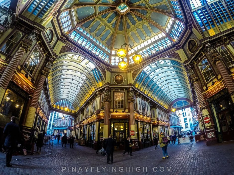 Leadenhall Market, London - PinayFlyingHigh.com