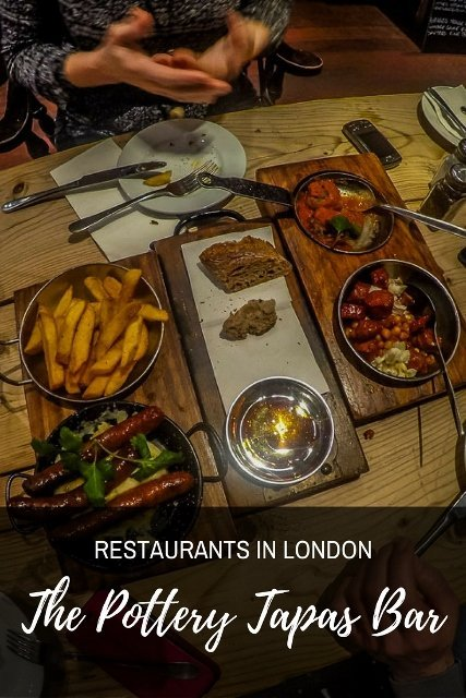 Restaurants in Kingston Upon Thames, London - The Pottery Tapas Bar