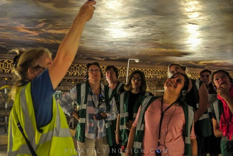 Painted Ceiling Tour, Greenwich, London - PINAYFLYINGHIGH.COM-108