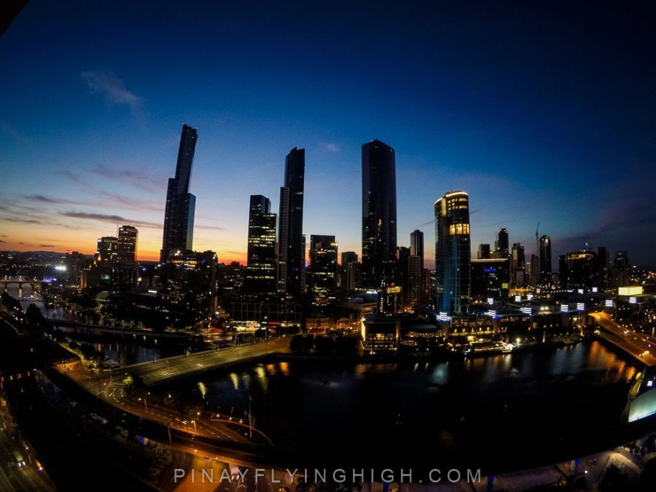 Cityscape of Melbourne