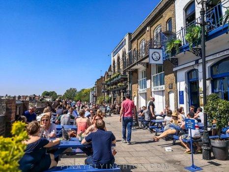 The Blue Anchor, Hammersmith, London, England