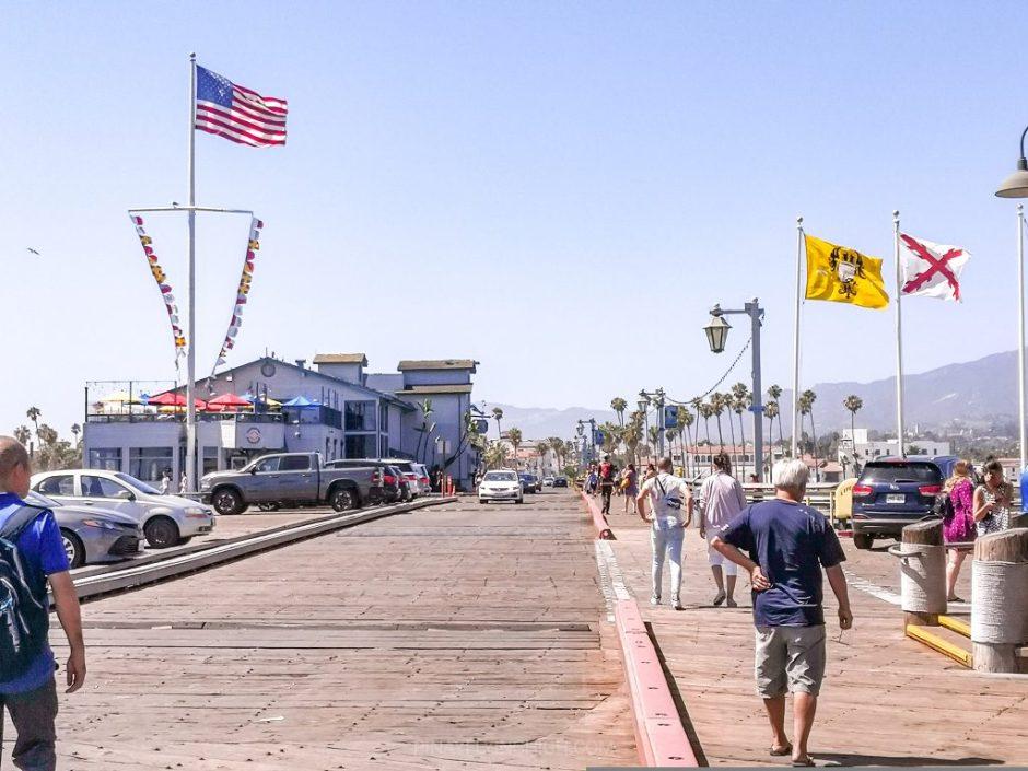 Stearns Wharf, Santa Barbara, California