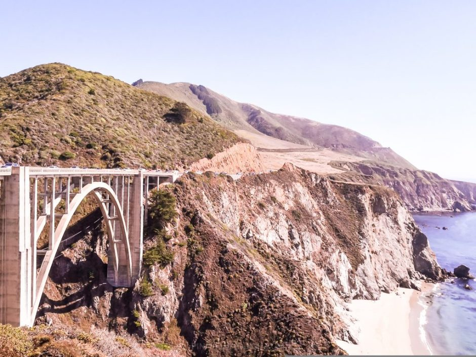 Bixby Bridge, Big Sur Drive, California