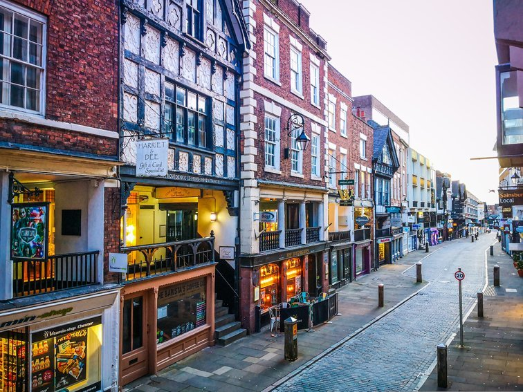 Rows, Chester, England