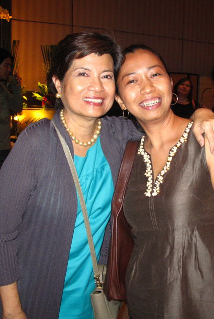 With Cheche during the Probe Reunion