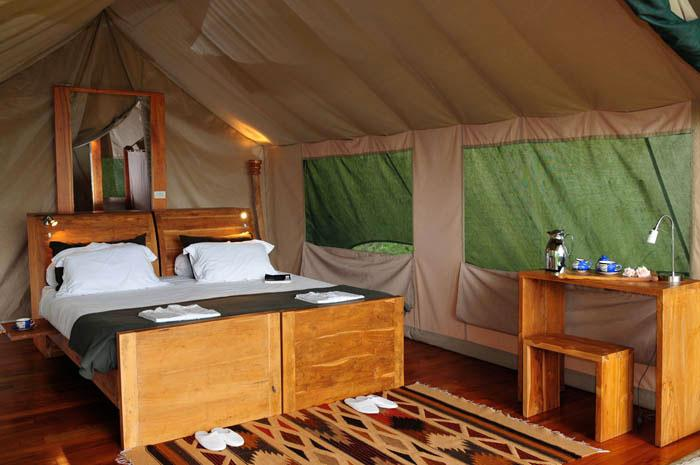 galapagos safari camp 2 Tent-interior