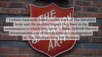 Robin Stilwell-Harvey shares her perspective on the work the Salvation Army does.