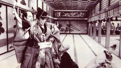 Asano lève son sabre
