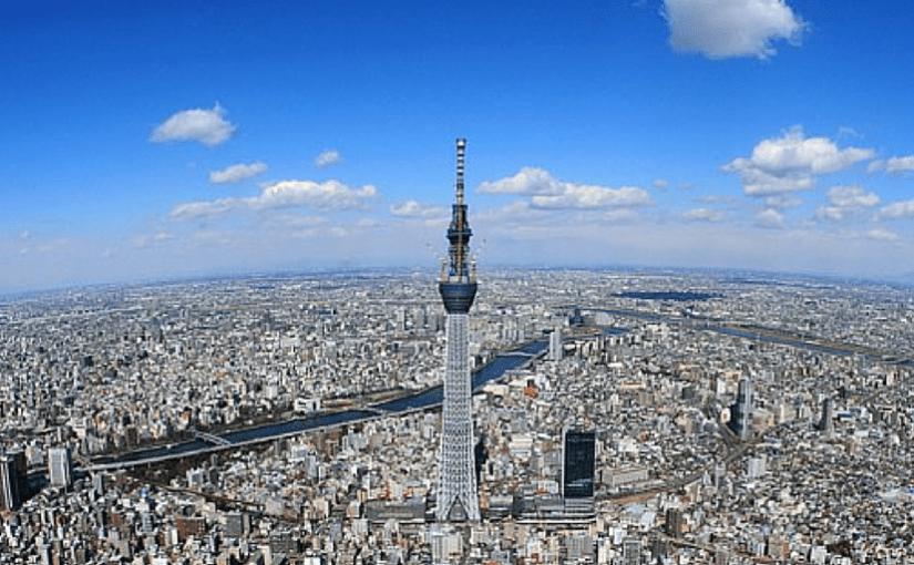 La Tokyo Sky Tree ou l'arbre des cieux de Tokyo