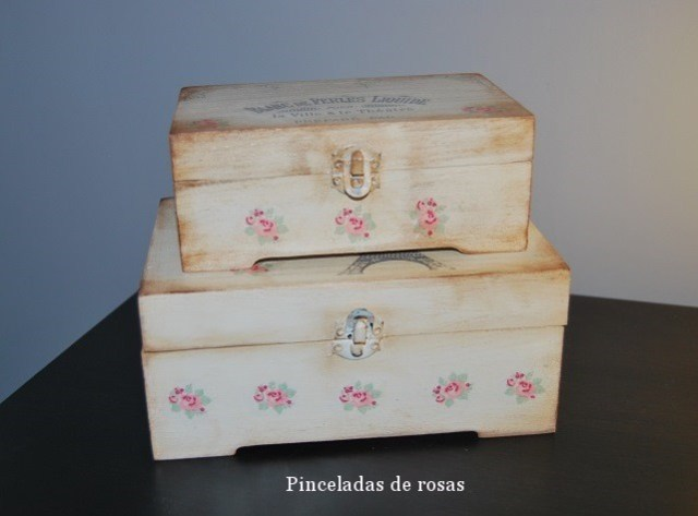 Cajas Vintage con transferencias (10)