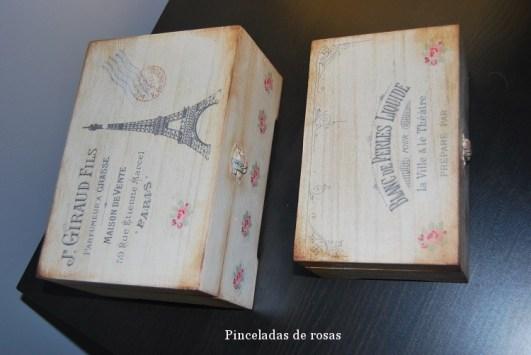 Cajas Vintage con transferencias (3)