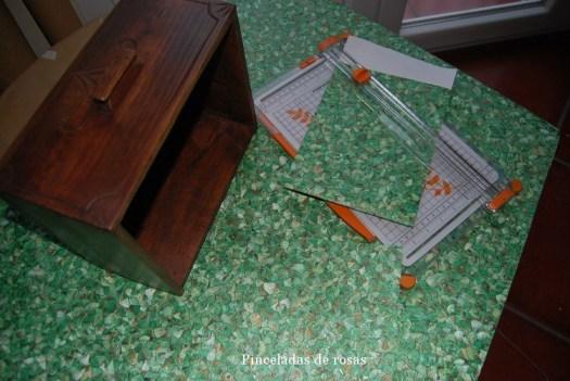 Cajón con papel pintado (10)