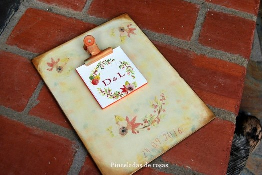 La idea... Damajuana libro de firmas para boda!!!