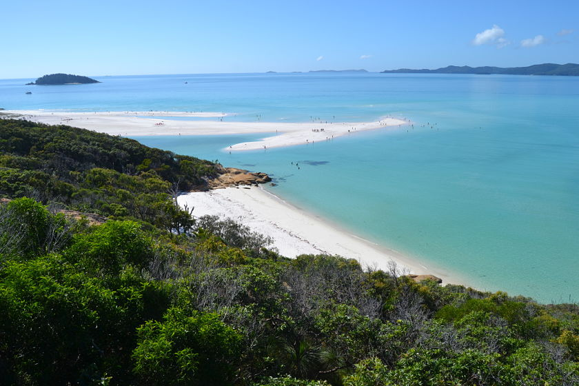 Hill Inlet Lookout, Whiteheaven Beach, Whitsunday Islands, Australia