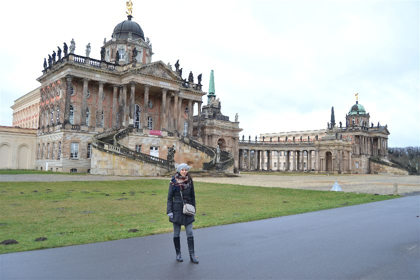 Neues Palais, Potsdam, Alemania