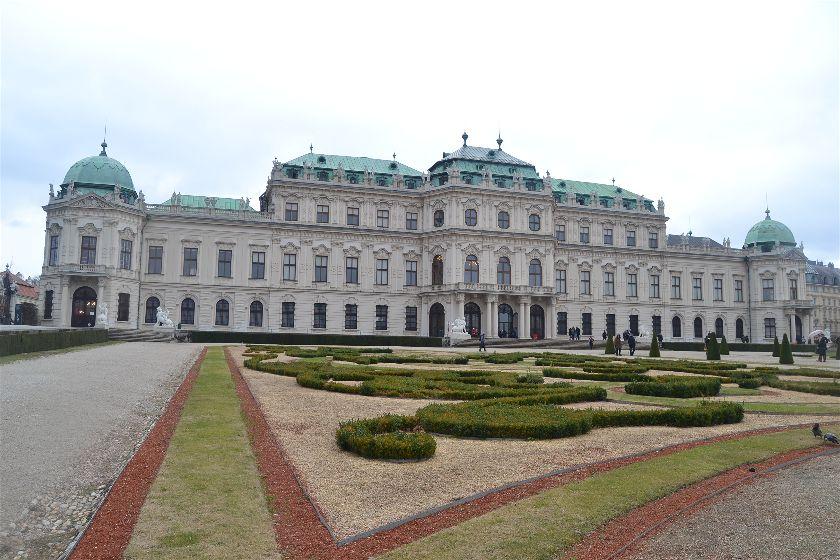Palacio de Belvedere, Viena, Austria
