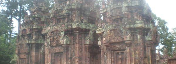 Diario Camboya – Julio 2013: Días 3, 4: Circuito Remoto (Beng Mealea, Kbal Spean, Banteay Srei) + Kompong Phluk