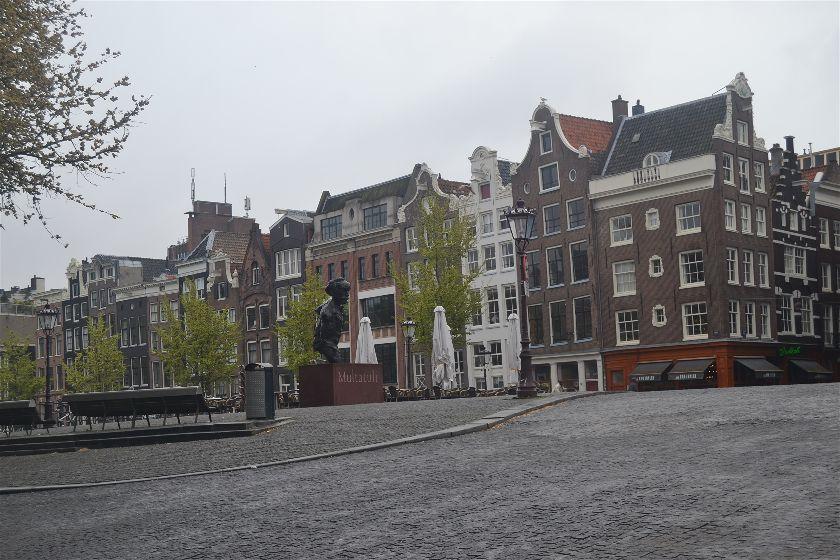 Monumento Multatuli, Amsterdam, Paises Bajos