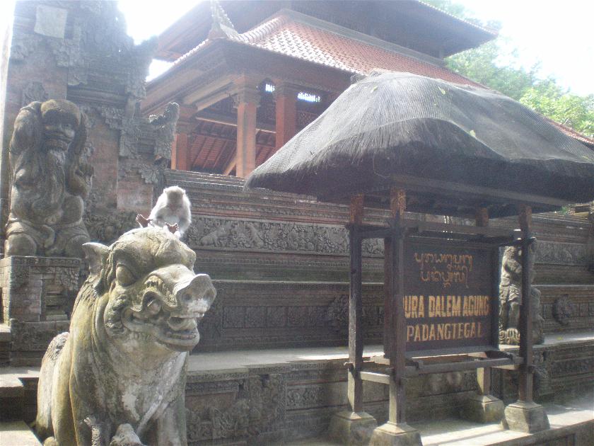 Pura Dalem Agung, Bali, Indonesia