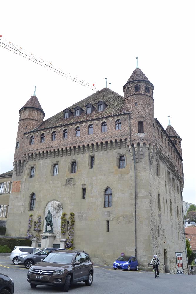 Castillo St Maire, Laussane, Suiza