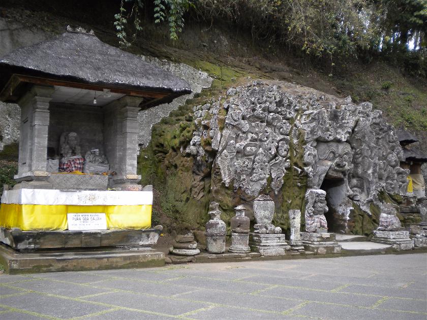Goa Gajah, Bali, Indonesia