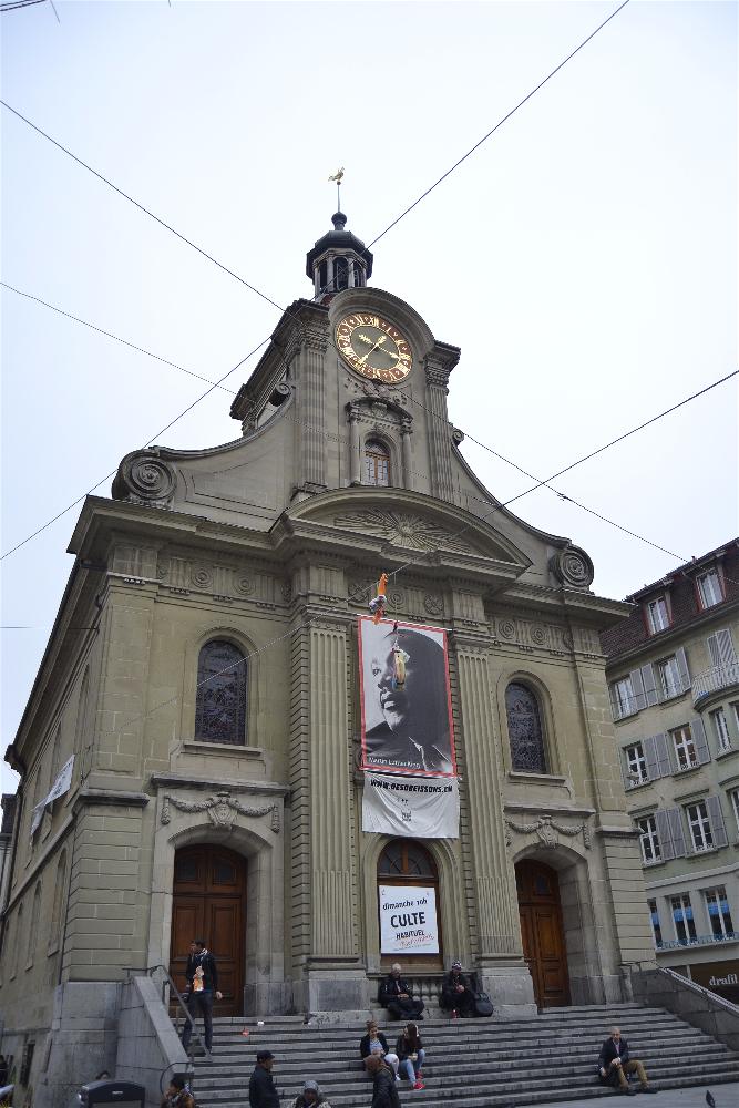 Iglesia St Laurent, Laussane, Suiza