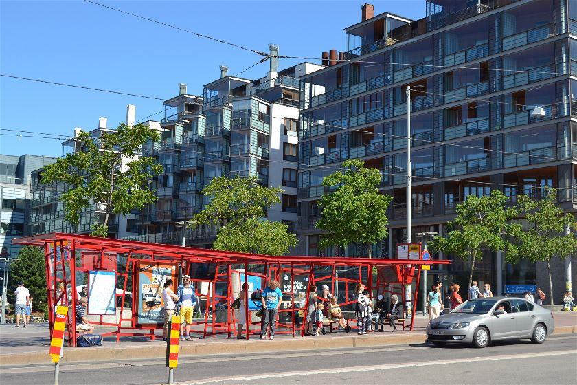 Estacion Bus, Helsinki, Finlandia