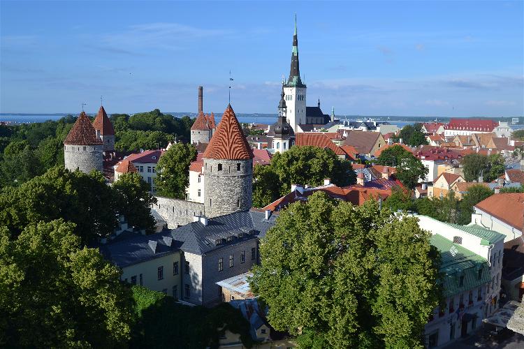 Diario Tallin (Estonia) – Julio 2014: Días 1-2: Ayuntamiento, Catedral Alexander Nevski, San Olaf, Pikk Jalg, Murallas, Miradores