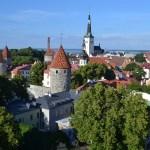 Diario Tallin (Estonia) - Julio 2014: Días 1-2: Ayuntamiento, Catedral Alexander Nevski, San Olaf, Pikk Jalg, Murallas, Miradores