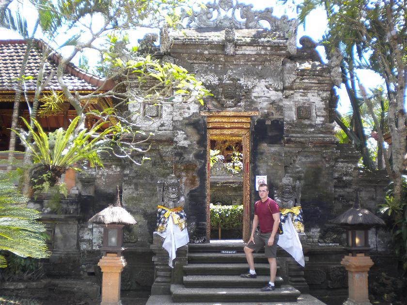 Palacio Real Puri Saren Agung, Ubud, Bali, Indonesia