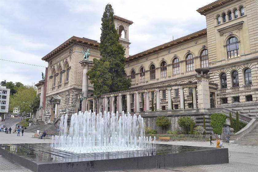 Palacio Rumine, Laussane, Suiza
